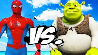 SPIDER-MAN VS SHREK - EPIC BATTLE