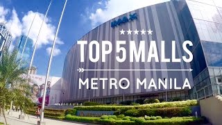 Top 5 Must Visit Shopping Malls <b>Metro Manila</b> Philippines Tour Overview By HourPhilippinescom