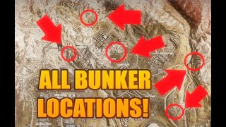 ALL BUNKER LOCATIONS IN WARZONE ! HOW TO OPEN ABOVE GROUND WARZONE BUNKERS ! Modern Warfare Warzone!