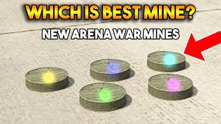 GTA 5 ONLINE : WHICH IS BEST PROXIMITY MINE? (FROM ARENA WAR DLC)