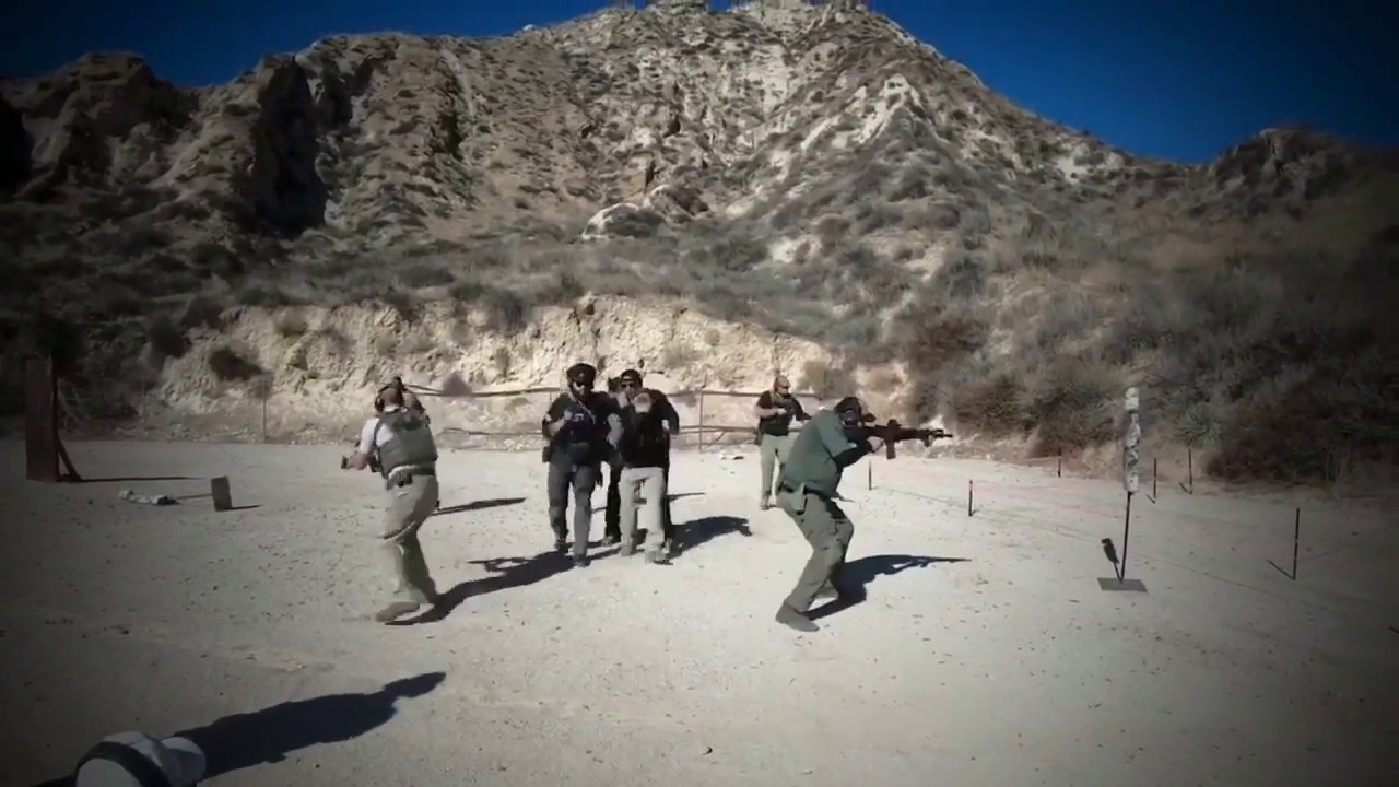 NAVY Seal Led Handgun Combative And Seal Techniques