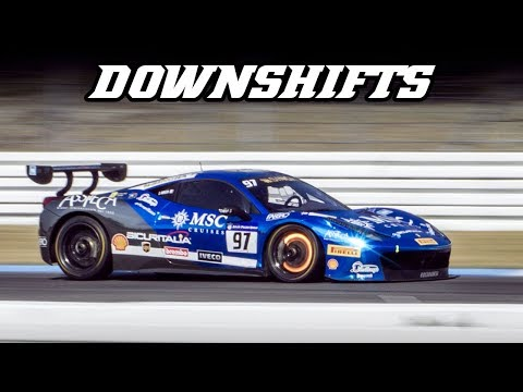 Downshifts vol.3 (360 cs, Huracan, FXXK, MX-5, 991 RSR, )