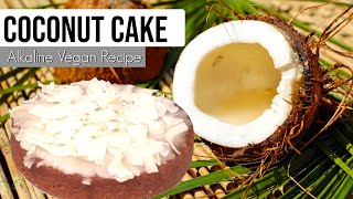 Coconut Cake Alkaline Vegan | Dr Sebi Approved Recipe