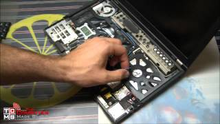 How to Install a mSATA SSD drive in a laptop (X220)
