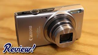 Canon PowerShot ELPH 360 HS Review! (2016)