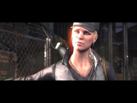 Mortal Kombat X - Cassie Cage vs Sonya Blade Intro Dialogues