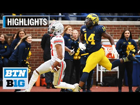 Download Highlights: Fields, Dobbins Tally 4 TDs Each in Win | Ohio State at Michigan | Nov. 30, 2019 HD Mp4 3GP Video and MP3