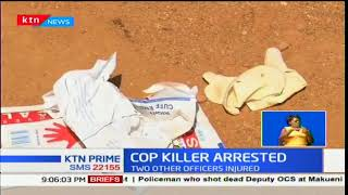 A rogue officer opens fire and killing Makueni Deputy OCS