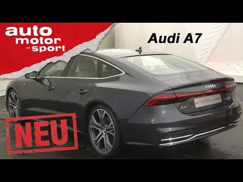 Audi A7 (2018): Der schönere A8? - exklusive Neuvorstellung / Test / Review | auto motor und sport