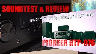 Pioneer HTP-076 - Sound Test and Review