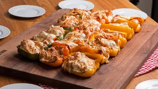 Chix Parm Stuffed Bell Peppers - Video Youtube
