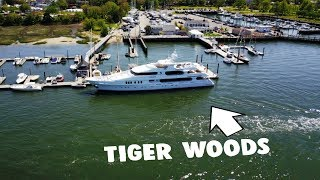 Tiger woods boat bohicket