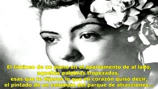 Billie Holiday: These Foolish Things (Remind Me of You) (Subtitulado en español)
