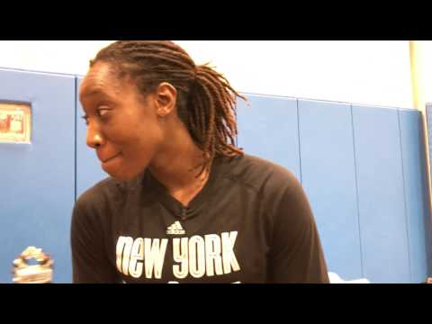 The Summitt talks to Tina Charles of the New York Liberty