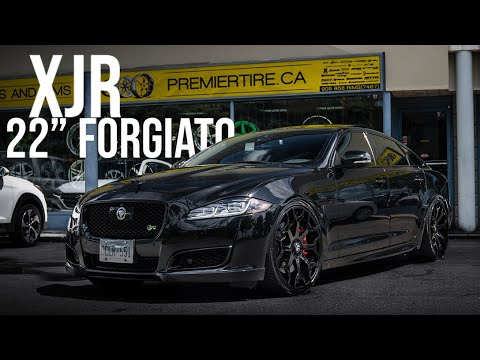 "FORGIATO  | JAGUAR XJR ON 22"" WHEELS 