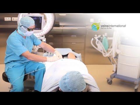 Die Öbungen für die Warnung der Thrombophlebitis