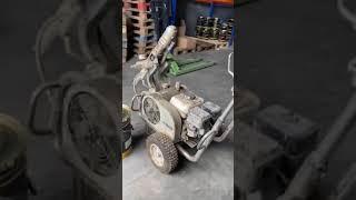 Безвоздушный краскопульт высокого давления WAGNER HC 940 V Б/У от компании КМК Груп - видео