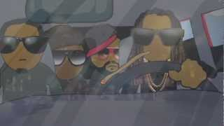 "2 Chainz ""Dope Peddler"" Video Cartoon by HdotRoss"