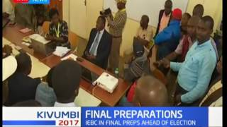 Kiambu county: IEBC's final preparations