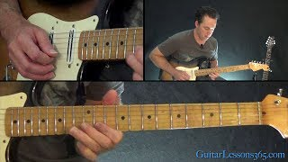 Shine On You Crazy Diamond Guitar Lesson (Part 1)   Pink Floyd