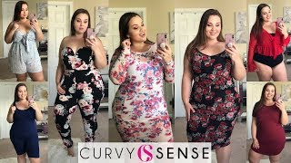 Curvy Sense Try-On Haul! |Plus Size Fashion|