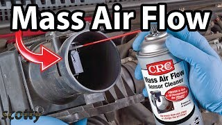 How to Clean Mass Air Flow Sensor to Stop Car Hesitation | Scotty