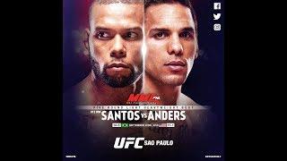 UFC Fight Night 137: Тиаго Сантос против Эрика Андерса