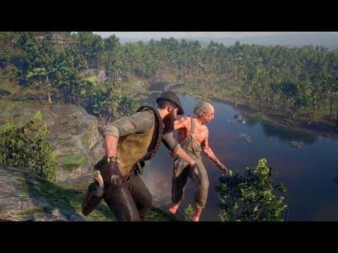 Red Dead Redemption 2 - Funny & Brutal Moments Vol. 38 (Euphoria Ragdolls)