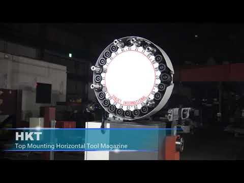 HKT-Top Mounting Horizontal Tool Magazine