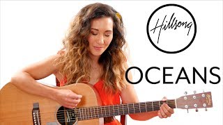 Oceans - Hillsong Guitar Tutorial With Play Along