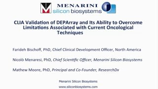 CLIA Validation of DEPArray to Overcome Limitations Associated with Current Oncological Techniques