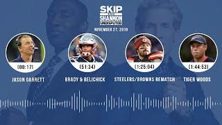 Jason Garrett, Brady/Belichick, Tiger Woods, Clippers | UNDISPUTED Audio Podcast