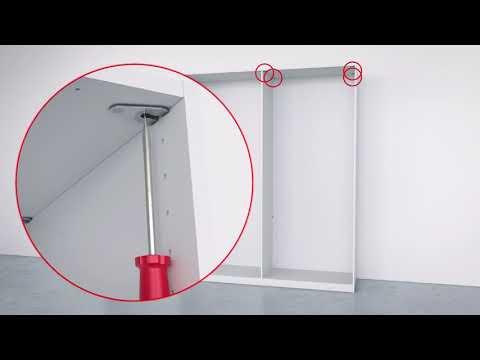 Aufbauanleitung - Drehtürenschrank - Wiemann