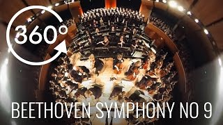 """360° Video Orchestra Wellington """"ODES TO JOY"""" VR Beethoven Symphony No 9"""