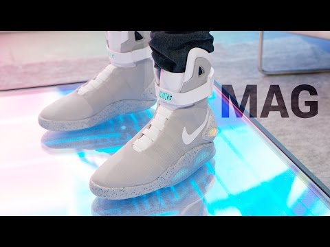 Dope Tech: Self-Lacing Nike Mag!