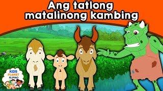 Ang tatlong matalinong kambing   Kwentong Pambata   Mga Kwentong Pambata   Tagalog Fairy Tales