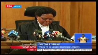 Doctors' strike: No deal yet between the union and Court