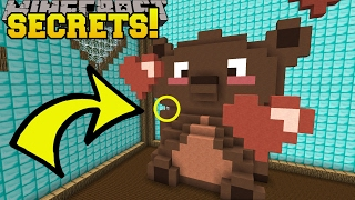 Minecraft: TEDDY BEAR SECRETS!!! - Save Valentine