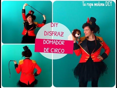 DIY Disfraz domadora circo