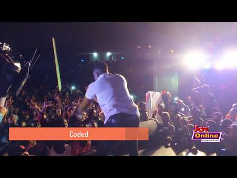 Coded performs at the Joy FM Open House Party at UPSA