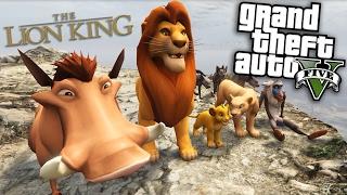 GTA 5 Mods - THE LION KING MOD (GTA 5 Mods Gameplay)