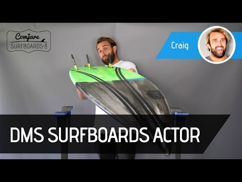 DMS Actor Surfboard Review, Carbon Wrap & Futures Rusty Blackstix | Compare Surfboards