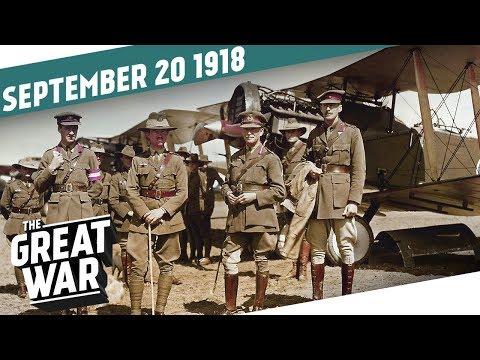 Průlom v Palestině a Makedonii - Velká válka