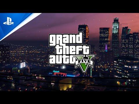 Grand Theft Auto V and Grand Theft Auto Online sur PS5 – Sortie prévue en mars 2022 de Grand Theft Auto V