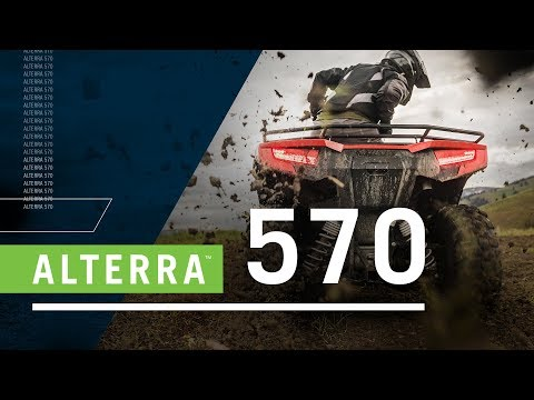 2019 Arctic Cat Alterra 570 in Saint Helen, Michigan - Video 1