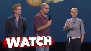 Finding Dory: Ellen Degeneres & Ed O'Neill on Stage at D23 Expo 2015