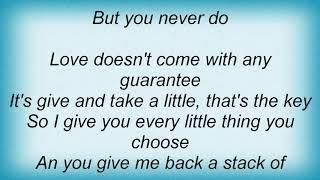 Trisha Yearwood - You Say You Will Lyrics