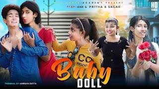 Baby Doll 🎎 - बब डल  - New Panjabi Song  Ft Anik, Pritha and Sagor / cute ❤ story