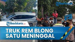 Kecelakaan Beruntun 9 Kendaraan di Magelang, Diduga Truk Mengalami Rem Blong, 1 Orang Meninggal