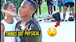 """""""They Don't Like Losing!"""" Trash Talkers BEAT OUR A**es! East Coast Squad Park Run Got PHYSICAL!"""